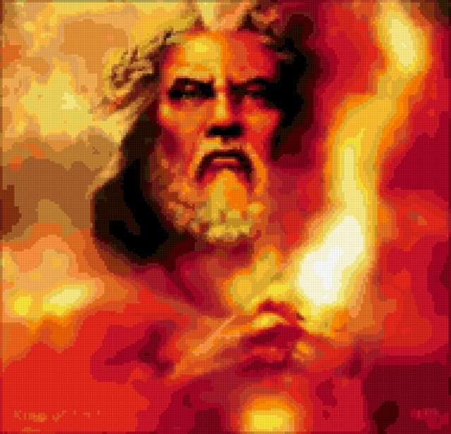 Бог Зевс, предпросмотр