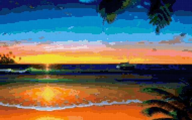 Песчаный пляж, предпросмотр