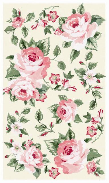 Розы для скатерти, оригинал