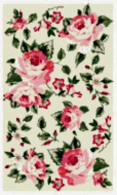Розы для скатерти