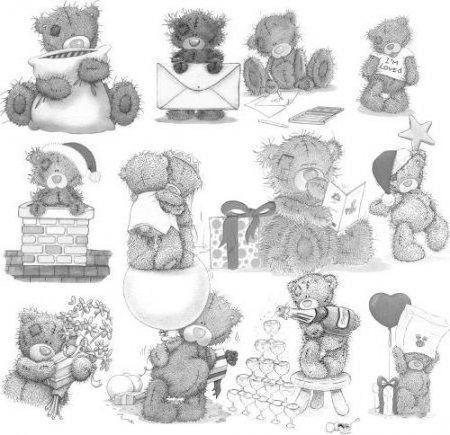 Мишка Тедди, мишки, детям,
