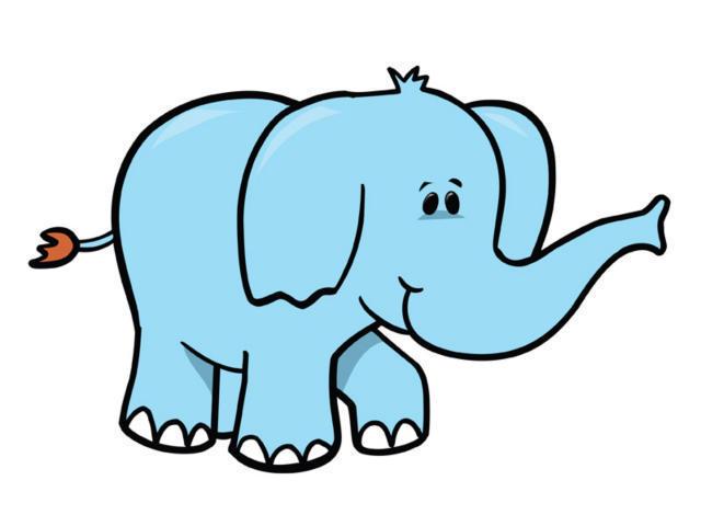 Картинки для детей слоник