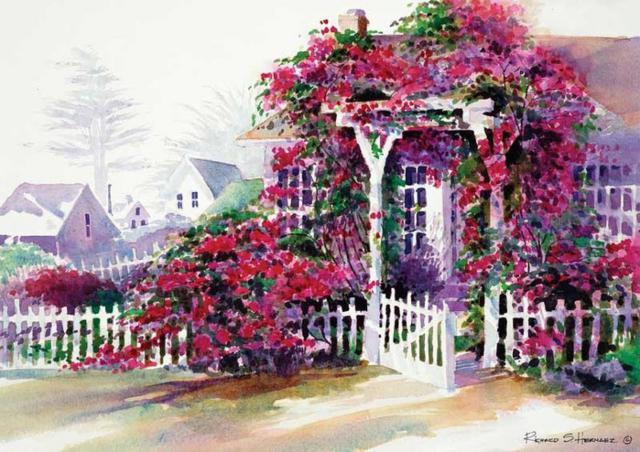Плетистые розы, оригинал