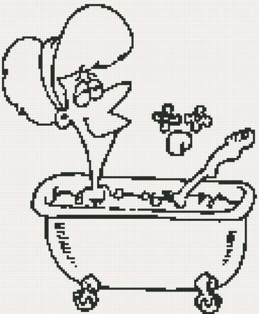 Табличка для ванной