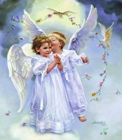 Шепну на ушко, дети, ангел,
