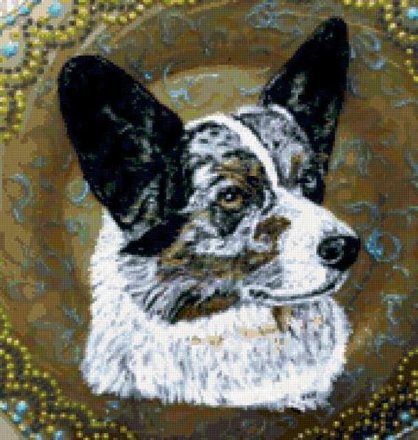 Портрет собаки, предпросмотр