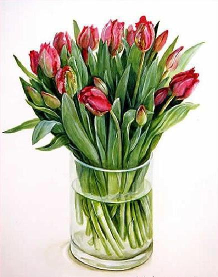 Фуджико тюльпаны, оригинал