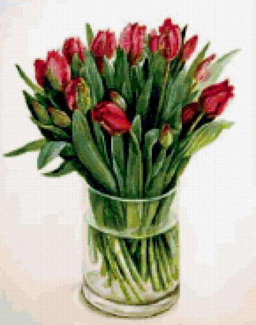 Фуджико тюльпаны, предпросмотр