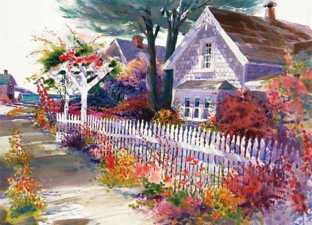 Цветочная улочка, оригинал