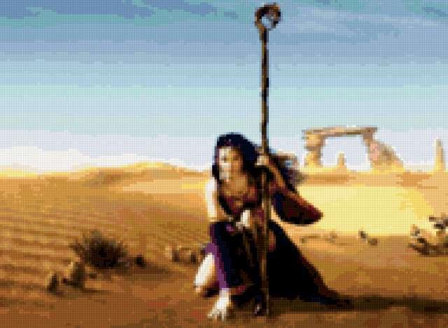 Странница в пустыне