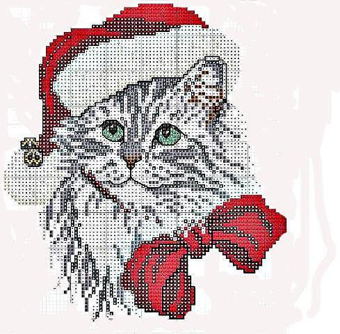 Новогодний кот, оригинал