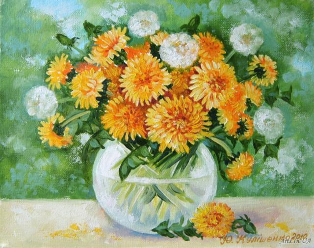 полевые цветы, букеты,