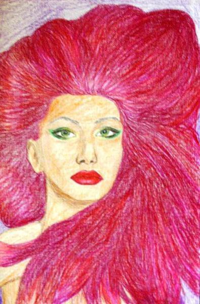 Портрет роковой женщины