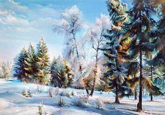 картина мороз: