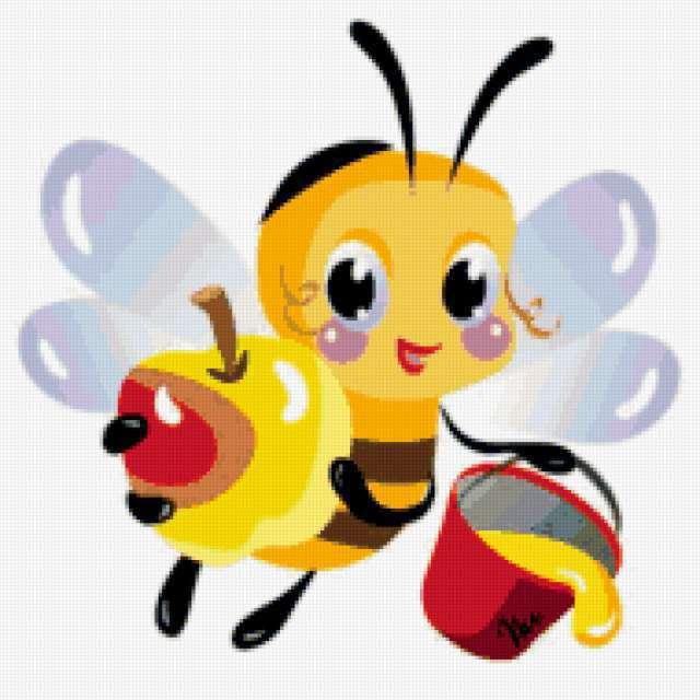 Пчелка, веселые картинки