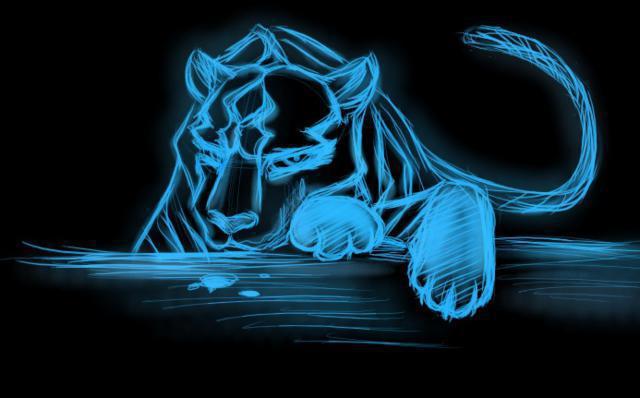Синяя пантера,
