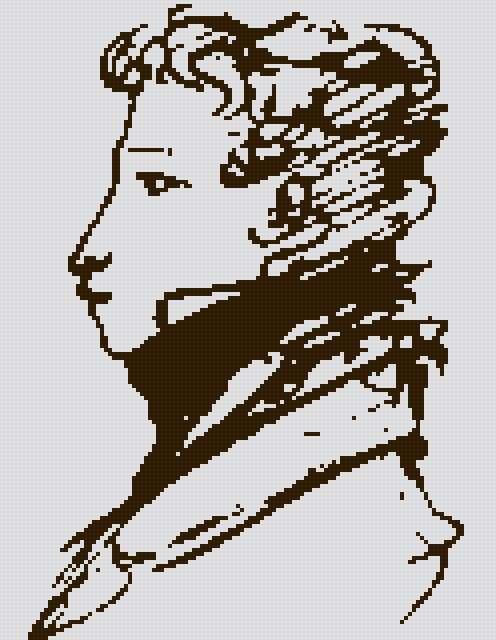 Портрет пушкина, предпросмотр