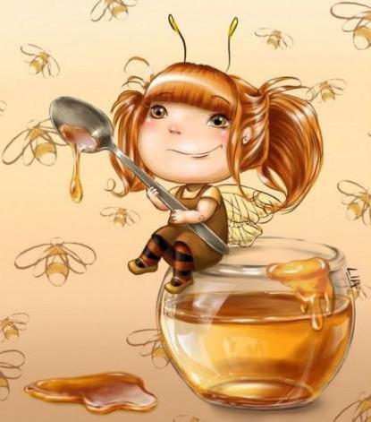 Весёлая пчёлка, детям, мультик