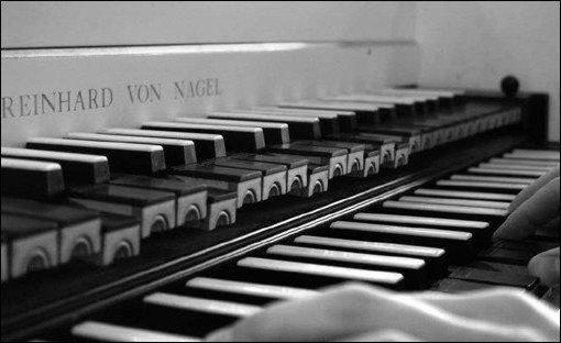 Рояль, рояль, клавиатура