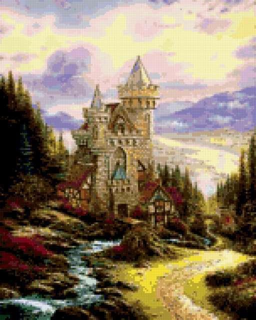 Таинственный замок...