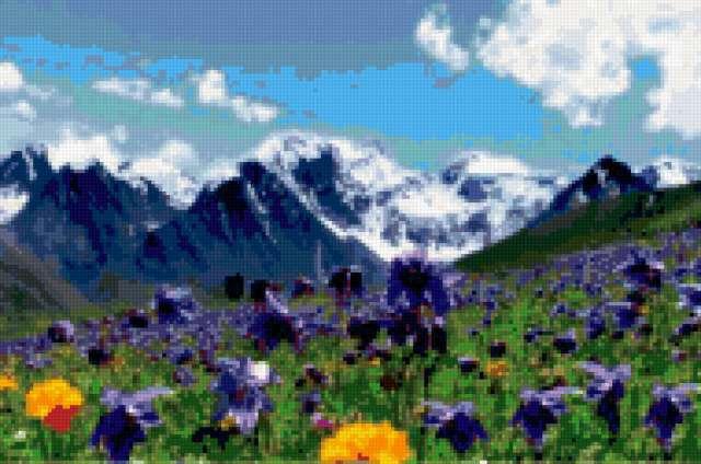 Альпийский луг, предпросмотр