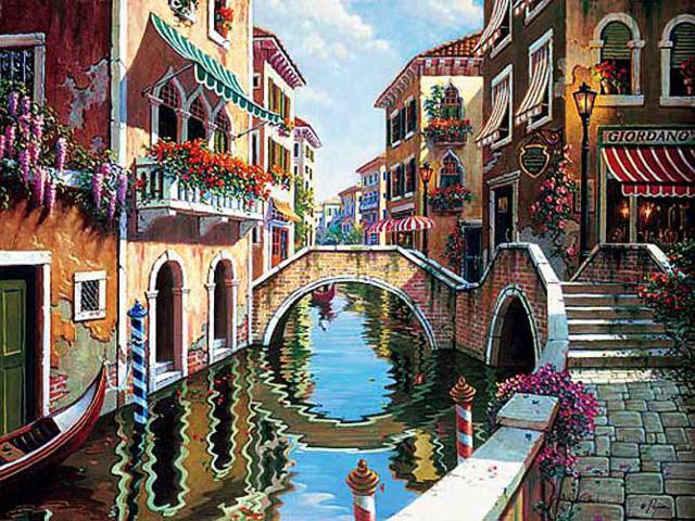 Шикарная улочка Венеции