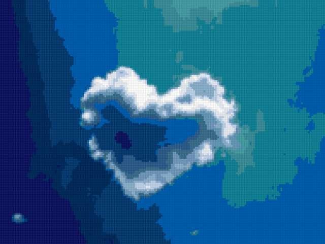 Сердце из облака, предпросмотр