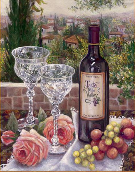 Виноград, вино и розы,