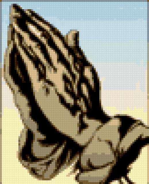 Руки молитвы, предпросмотр