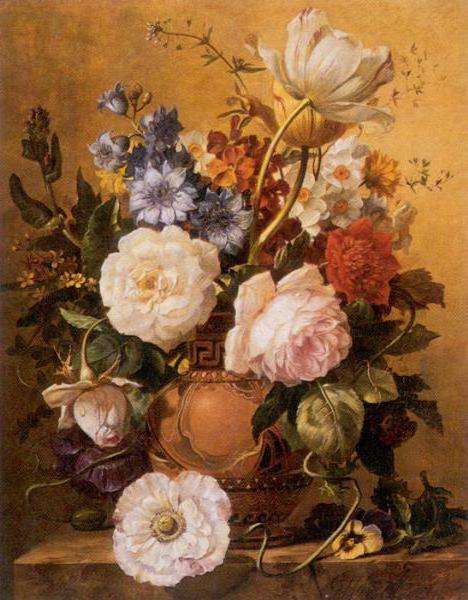 Гобелен с розами, оригинал