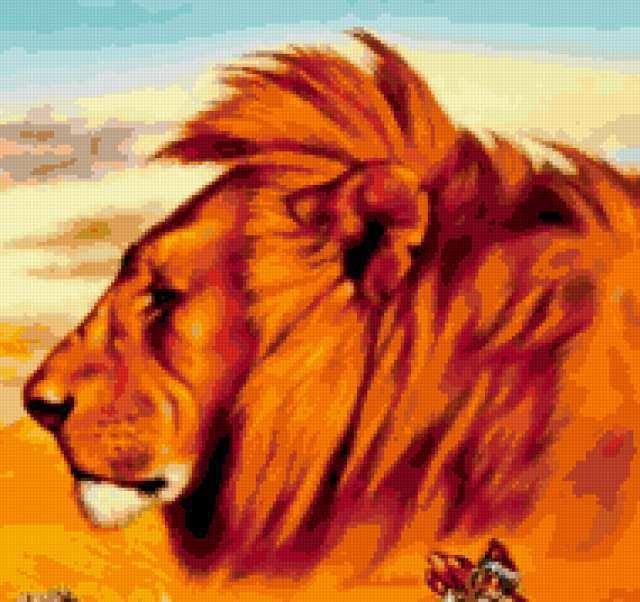 Портрет царя зверей