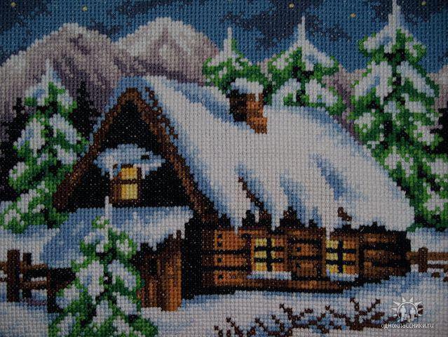 Зимний домик, зимний домик
