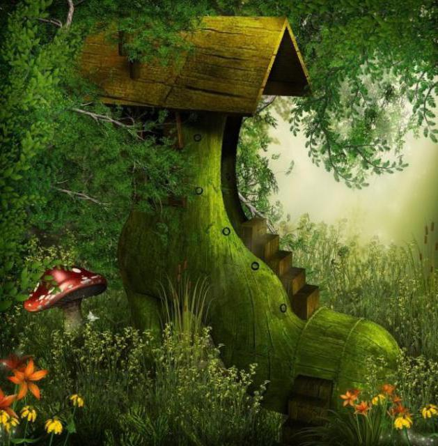 Сказочный домик, детям