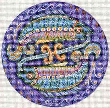 Знак зодиака - рыбы, оригинал