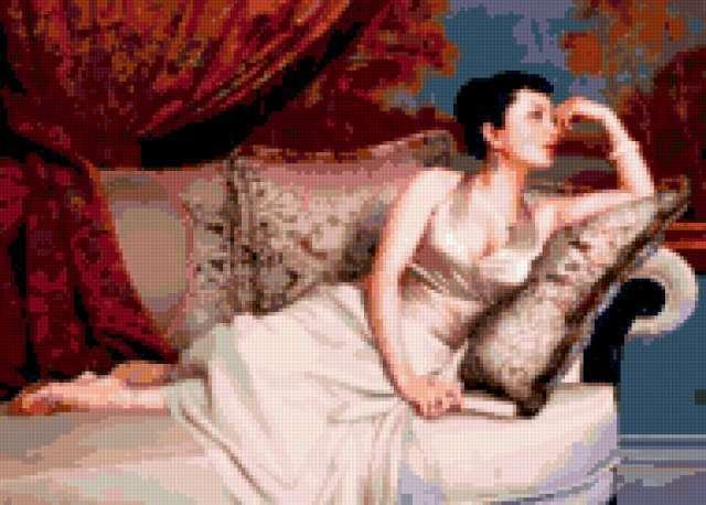Китаянка на диване