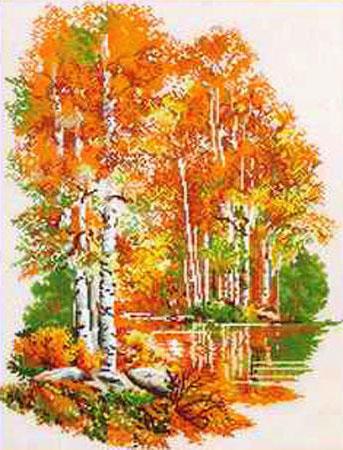 Золотая осень, пейзажи