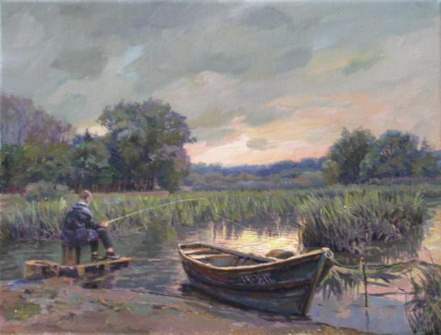 Вечерняя рыбалка, рыбалка