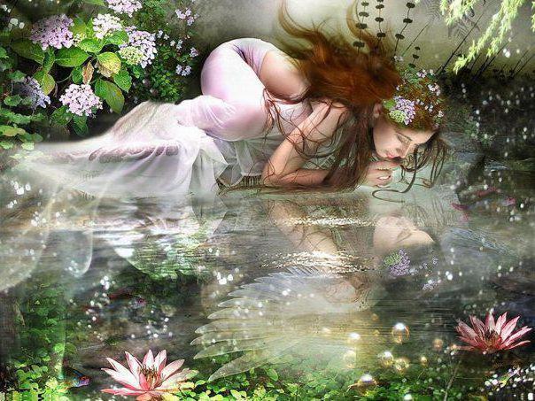 Лесная фея, фентези