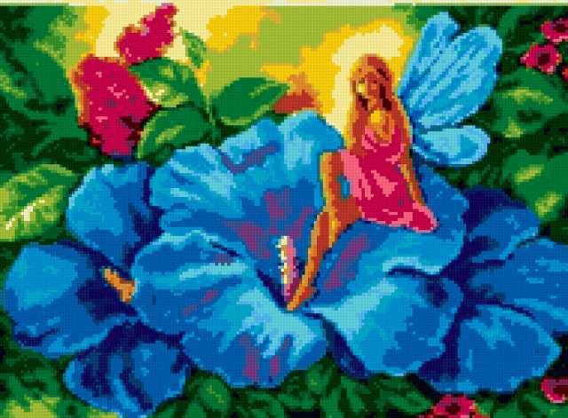 Цветочные феи, предпросмотр
