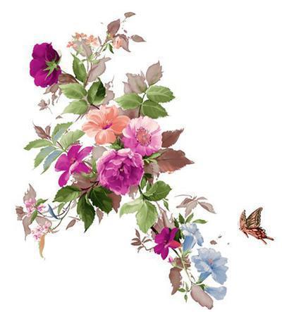 цветочный орнамент фото