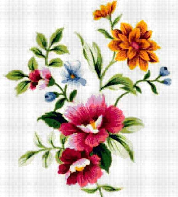 Простые цветы, предпросмотр