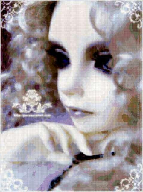 Фарфоровая кукла, предпросмотр