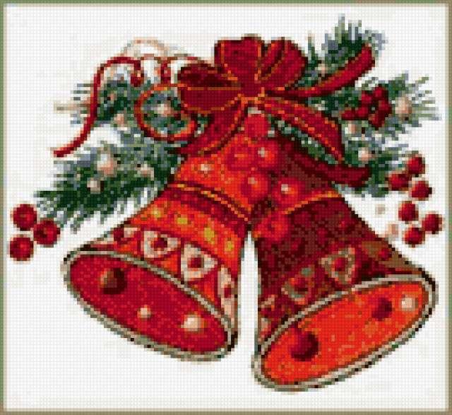 Новогодние игрушки на елку » Схемы вышивки крестом