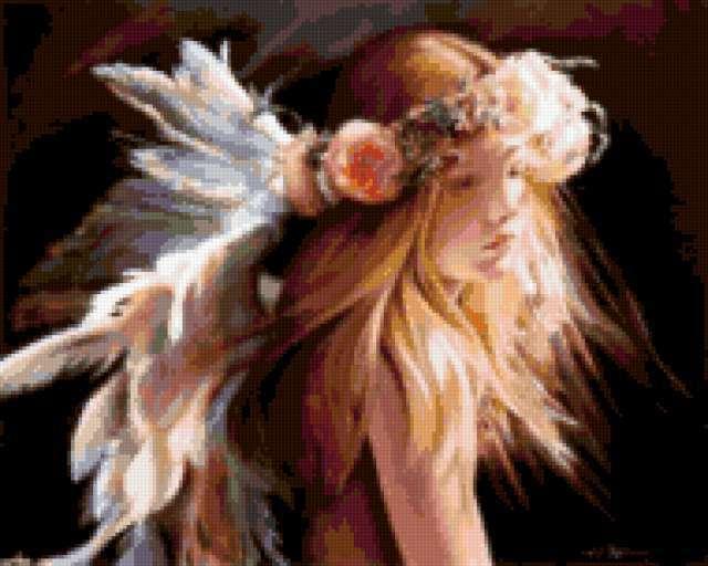 Девочка-ангел, предпросмотр