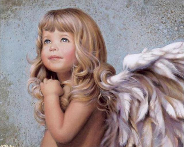 Девочка-ангел, оригинал