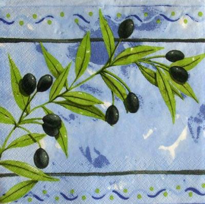 Оливки, оливковая веточка