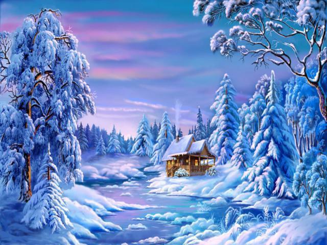Зимняя сказка, зимняя сказка,