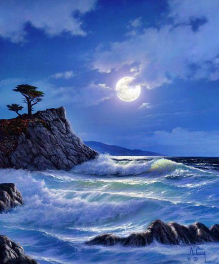 Лунная дорожка, лунная дорожка