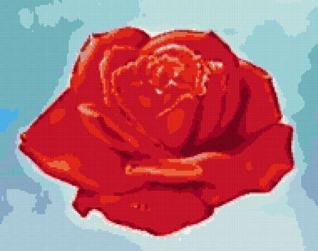 Простая роза, предпросмотр