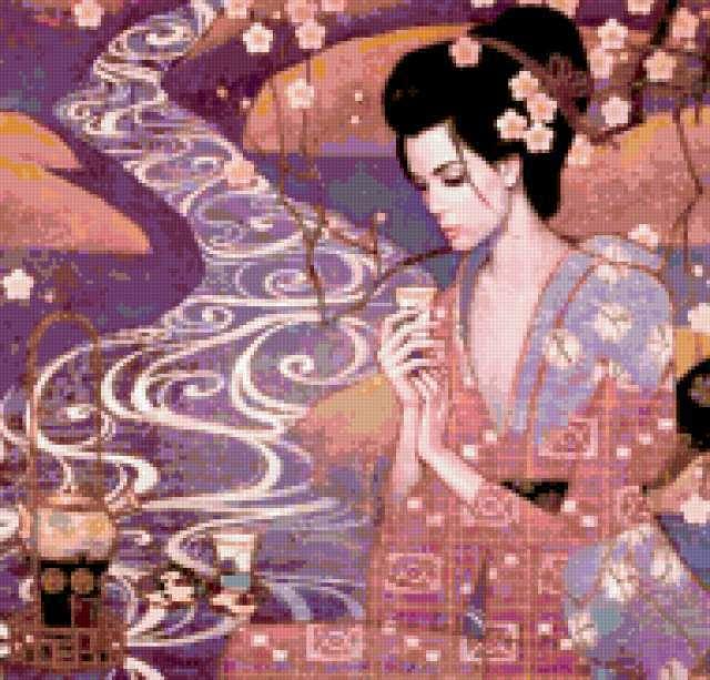 Японские мотивы, предпросмотр